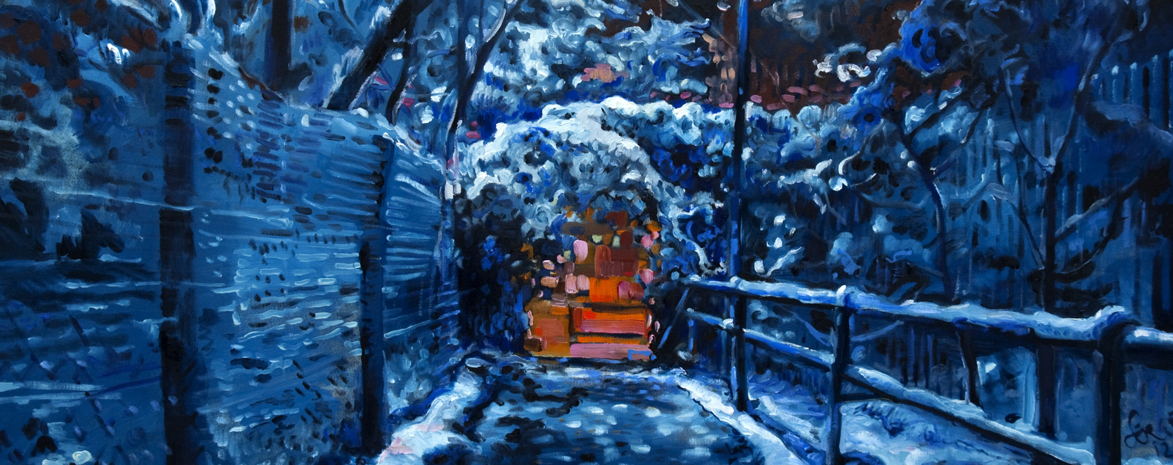 Blaulicht von Serge Nyfeler
